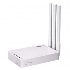 Totolink N302R+ Router WiFi 300Mb/s, 2,4GHz, 5x RJ45 100Mb/s, 3x 5dBi